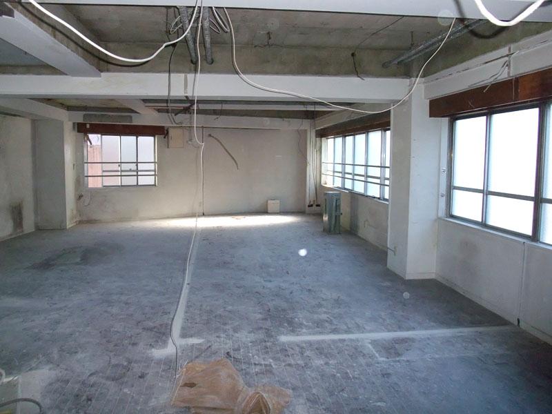 スタジオよもだ レンタルスタジオ・レンタルスペース 新フロア工事011201