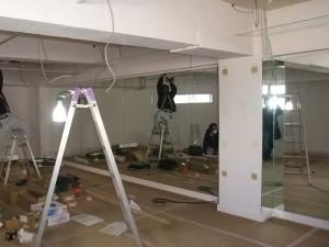スタジオよもだ レンタルスタジオ・レンタルスペース 新フロア工事020201