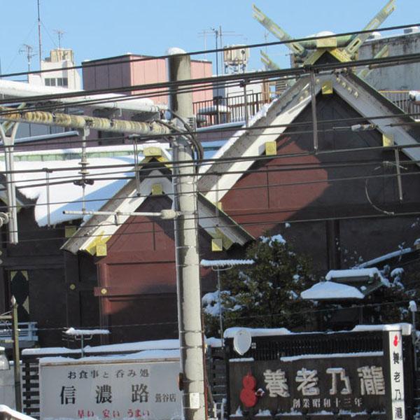 スタジオよもだ → 元三島神社 鶯谷駅