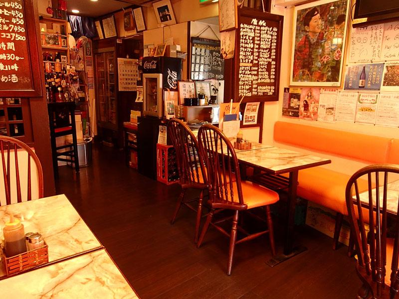 スタジオよもだ → 下町の味 レストランQ 鶯谷