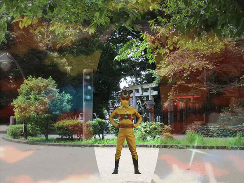 スタジオよもだ→花園神社 上野