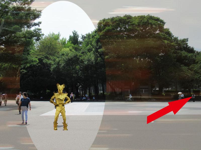 スタジオよもだ→上野公園