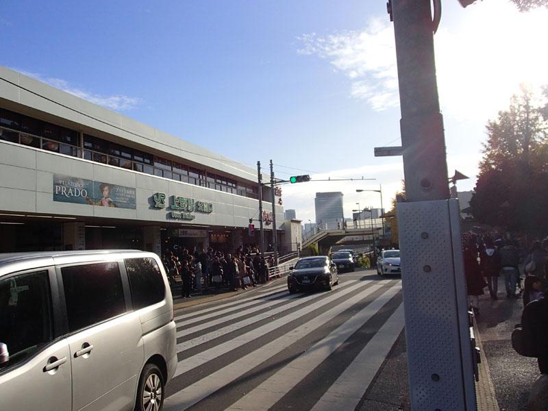 スタジオよもだ → 上野アメヤ横丁