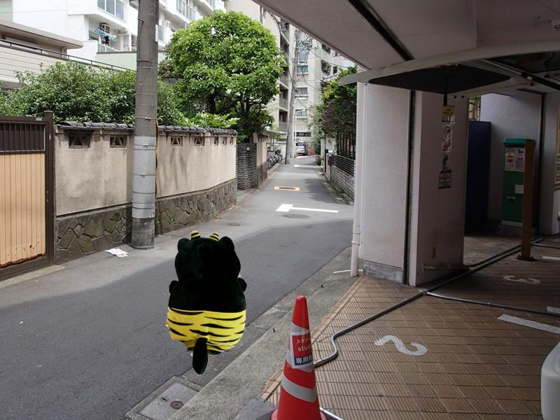 スタジオよもだ → 三島神社 下谷