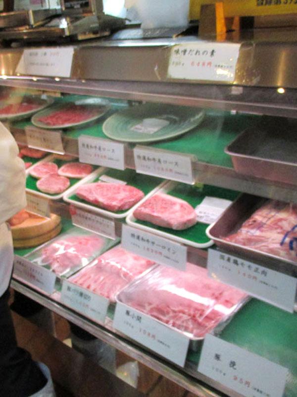 スタジオよもだ → 肉の大山 上野
