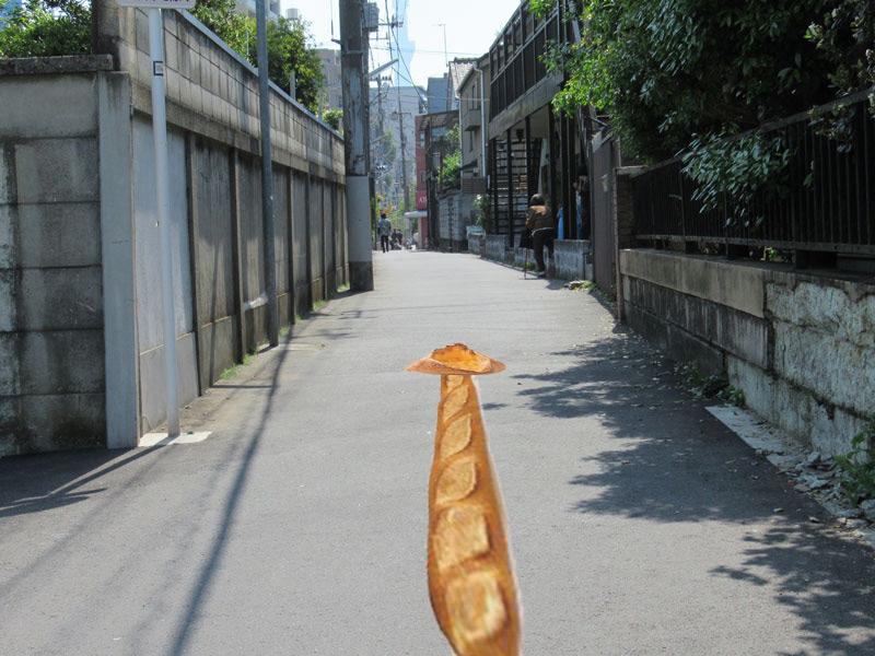 スタジオよもだ → タカヤマベーカリー 入谷