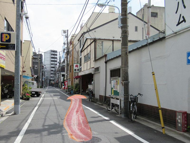 スタジオよもだ → 太田ハム 入谷