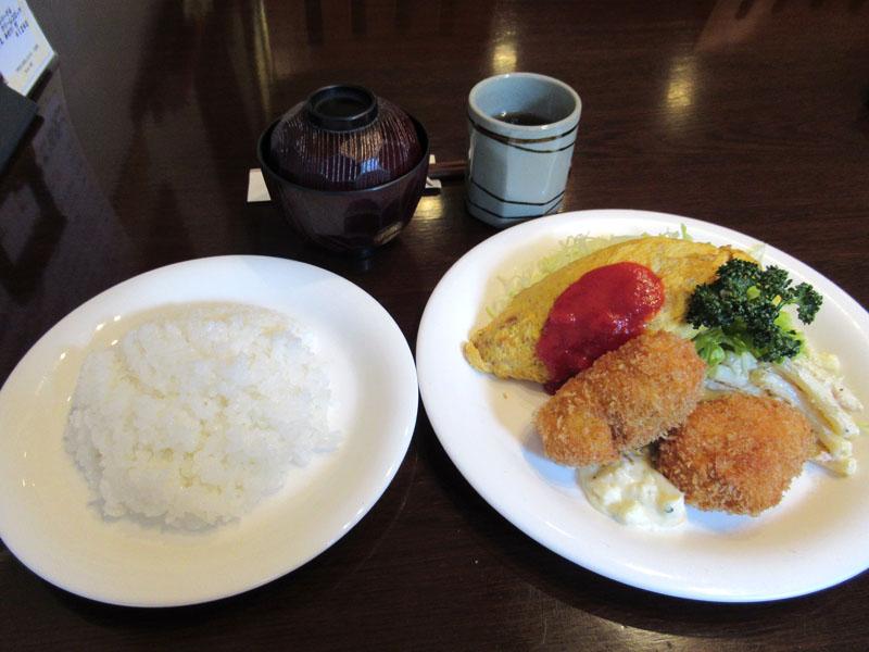 下町の小さなレストラン 三好弥 入谷
