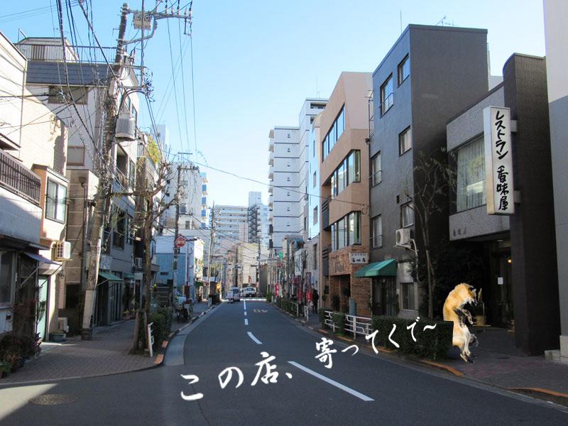 スタジオよもだ → 千束稲荷神社 竜泉