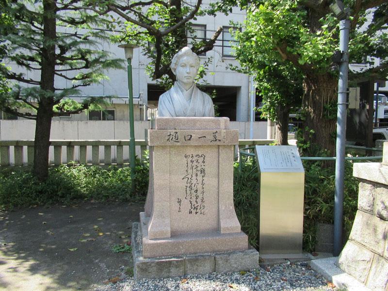 千束稲荷神社 たけくらべ記念碑 三ノ輪