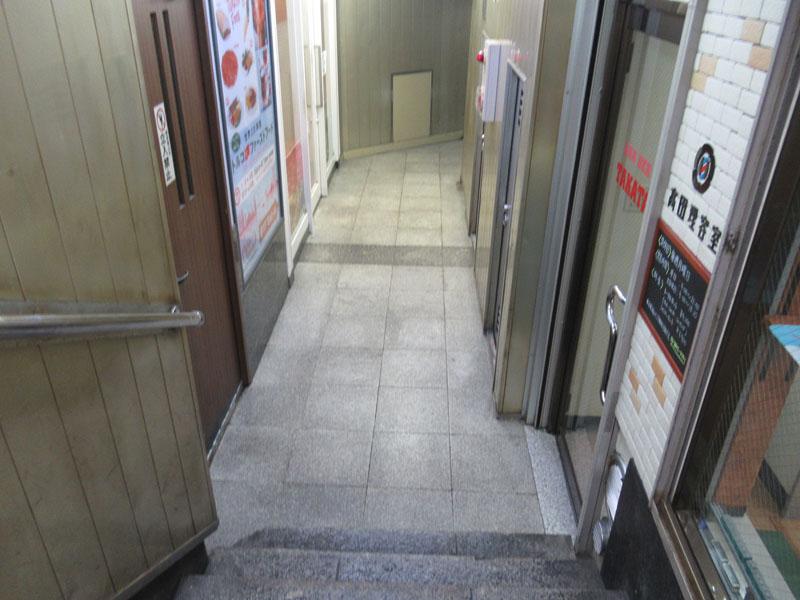 スタジオよもだ → 福ちゃん 浅草地下街