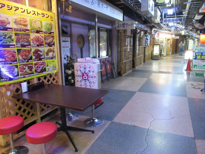 スタジオよもだ → 浅草地下街