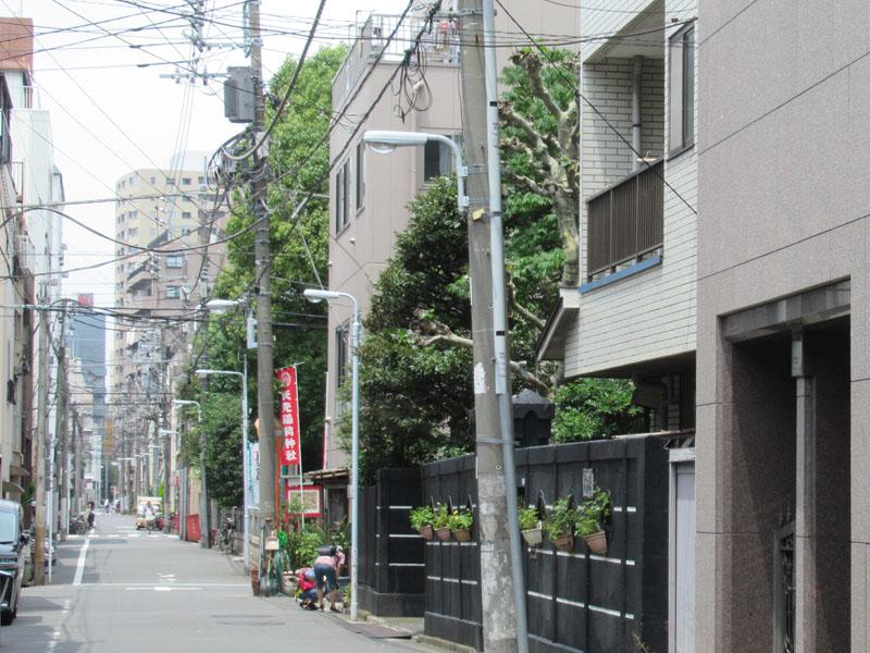 スタジオよもだ → 矢先稲荷神社 かっぱ橋道具街