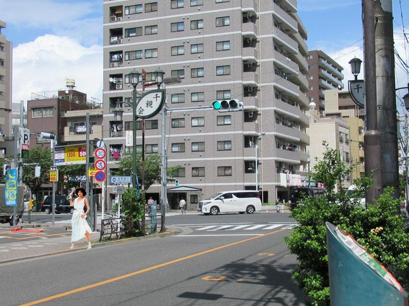 スタジオよもだ → 玉姫稲荷神社 台東区
