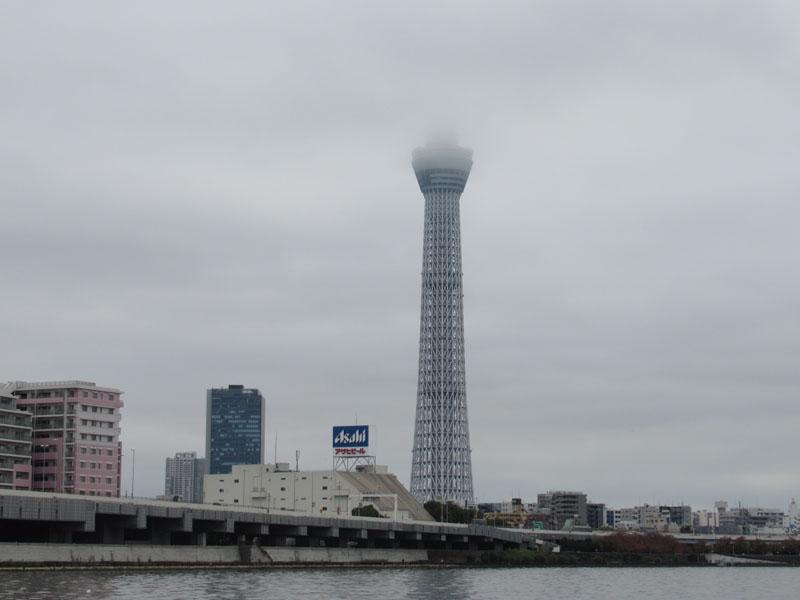 スタジオよもだ → 隅田川テラス 橋場