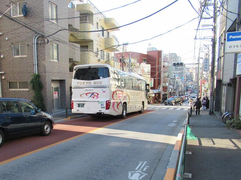 スタジオよもだ → 七倉稲荷神社 谷中