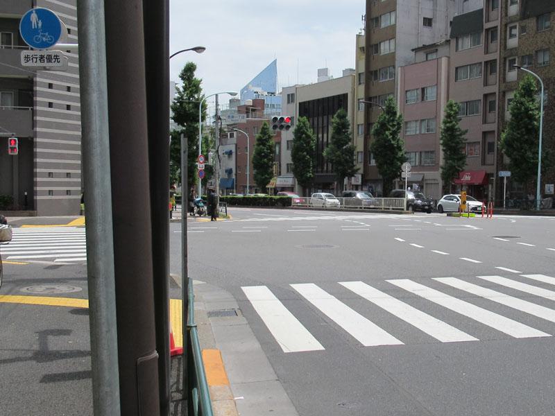 スタジオよもだ → 西浅草八幡神社 浅草
