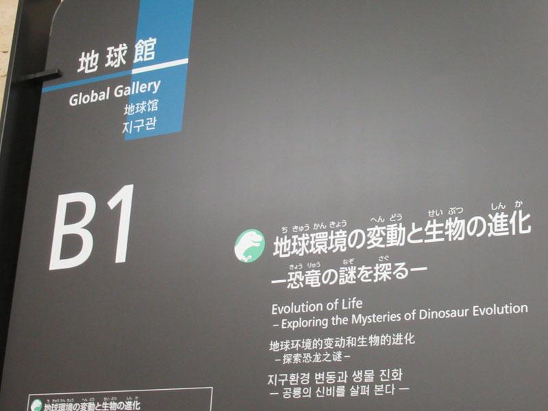 スタジオよもだ → 科学博物館 地球館