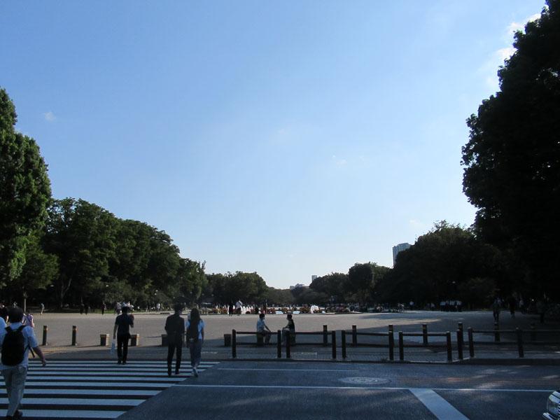 スタジオよもだ → トーハク 上野公園